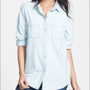 Hinge Chambray Button Down